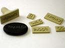 Custom Polymer Clay Word Stamps