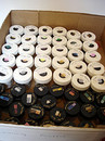 Box of Pearl and Embossing Powders