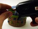 Pincushion Step 4: Attach Button to Assembled Pincushion