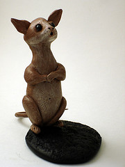 Field Mouse Sculpture