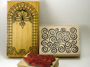 Wood-Mounted Rubber Stamps