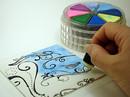 Coaster Step 4: Chalk Clay