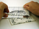 Coaster Step 3: Stamp Clay