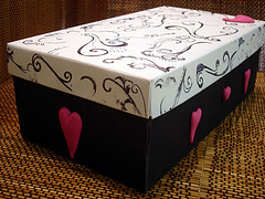 Valentine's Day Shoe Box