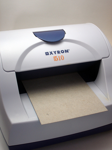 Xyron with Paperboard