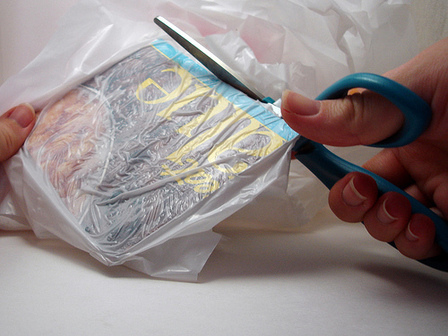 Trimming Plastic Bag
