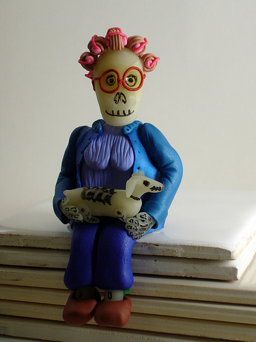 Calaveras - Grandma by CraftyGoat