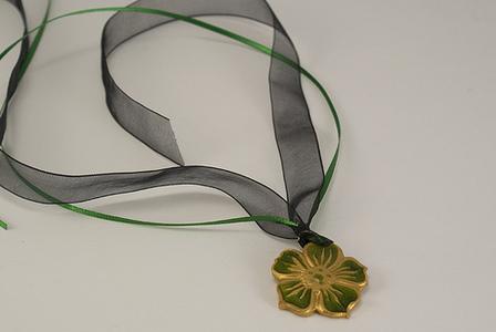 Primrose Necklace by CraftyGoat