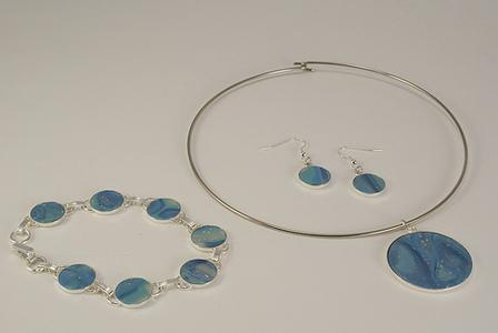 Marina Jewelry Set by CraftyGoat