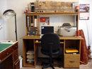 Computer desk (after)