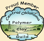 Proud Member of Central Oklahoma Polymer Clay Guild