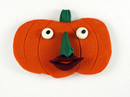 Ms. Pumpkin Head with Witch Nose